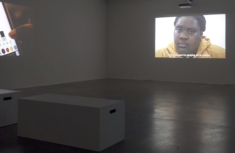 Image of the film installation A Different Way of Seeing at Autograph, London