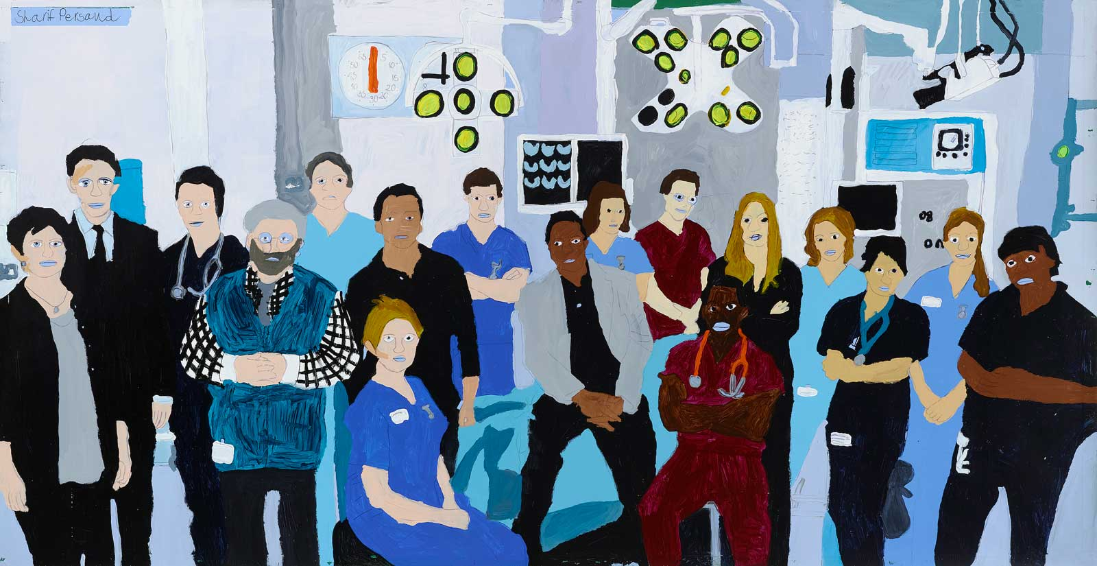 Holby City, Sharif Persaud, 2014